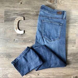 Paige Verdugo Ankle Stretchy Jeans Sz 31